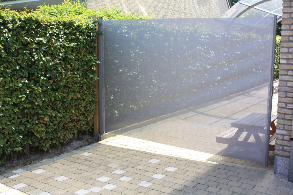 terras-windscherm grijs